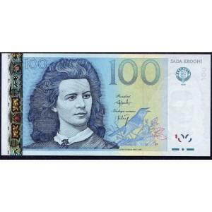 Эстония 100 крон 1999 - UNC