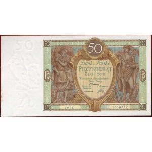 Польша 50 злотых 1929 - UNC