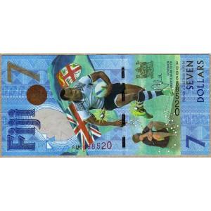 Фиджи 7 долларов 2017 - UNC