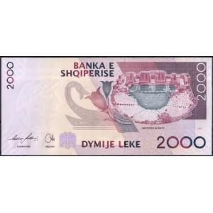 Албания 2000 лек 2007 - UNC