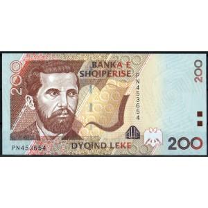 Албания 200 лек 2007 - UNC