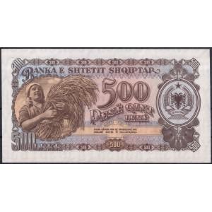 Албания 500 лек 1957 - UNC