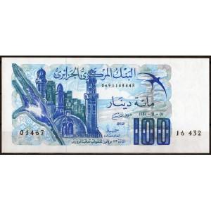 Алжир 100 динаров 1981 - UNC