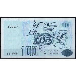 Алжир 100 динаров 1992 - UNC