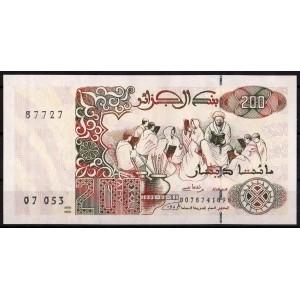 Алжир 200 динаров 1992 - UNC