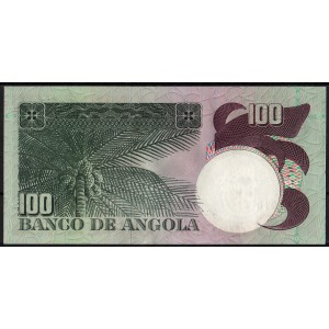 Ангола 100 эскудо 1973 - UNC