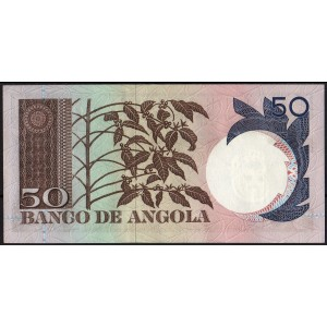 Ангола 50 эскудо 1973 - UNC