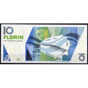 Аруба 10 флоринов 2012 - UNC