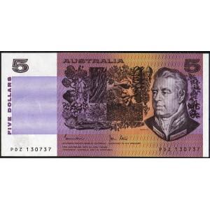 Австралия 5 долларов 1983 - UNC