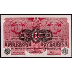 Австрия 1 крона 1919 - UNC