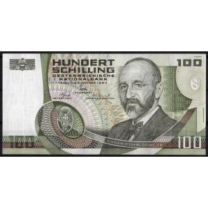 Австрия 100 шиллингов 1984 - AUNC
