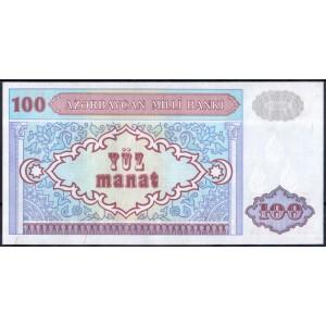Азербайджан 100 манат 1993 - UNC