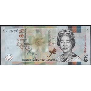 Багамские острова 1/2 доллара 2019 - UNC