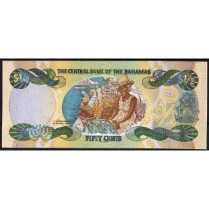 Багамские острова 1/2 доллара 2001 - UNC