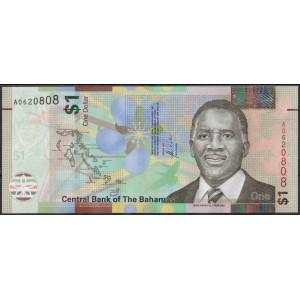 Багамские острова 1 доллар 2017 - UNC