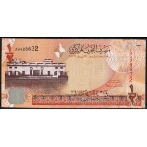 Бахрейн 1/2 динара 2008 - UNC