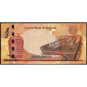 Бахрейн 1/2 динара 2006 - UNC