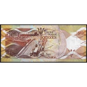 Барбадос 10 долларов 2013 - UNC