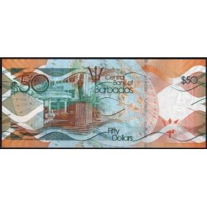 Барбадос 50 долларов 2013 - UNC