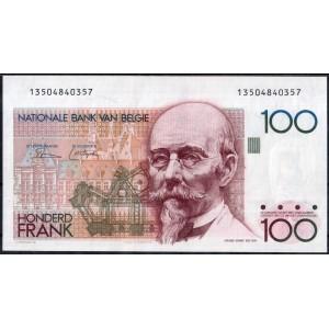 Бельгия 100 франков 1981 - UNC