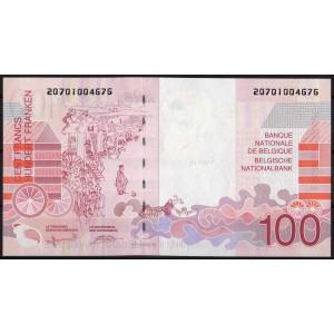 Бельгия 100 франков 1995 - UNC