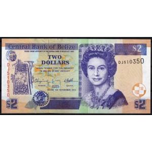 Белиз 2 доллара 2011 - UNC