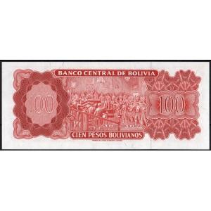 Боливия 100 боливиано 1962 - UNC