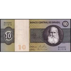 Бразилия 10 крузейро 1970 - UNC