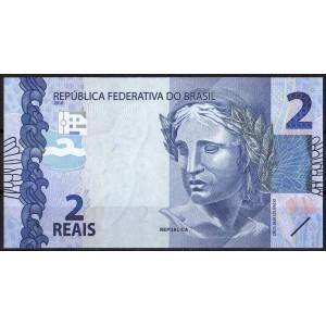 Бразилия 2 реала 2010 - UNC