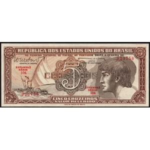Бразилия 5 крузейро 1961 - UNC