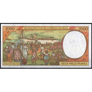 Буркина-Фасо 2000 франков 1993 - UNC
