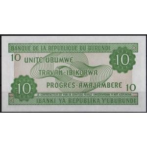 Бурунди 10 франков 2005 - UNC