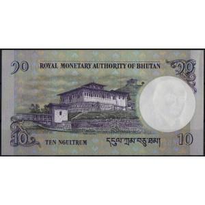 Бутан 10 нгултрум 2006 - UNC
