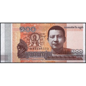 Камбоджа 100 риелей 2014 - UNC