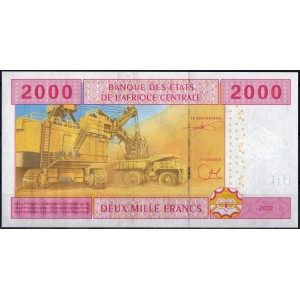 Камерун 2000 франков 2002 - UNC