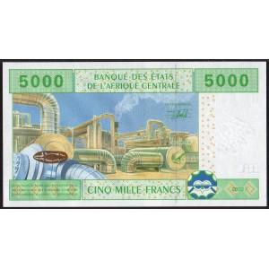 Камерун 5000 франков 2002 - UNC