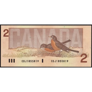 Канада 2 доллара 1986 - UNC