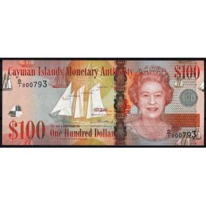 Каймановы острова 100 долларов 2010 - UNC
