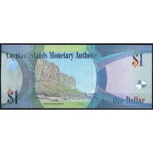 Каймановы острова 1 доллар 2010 - UNC