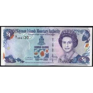 Каймановы острова 1 доллар 2003 - UNC