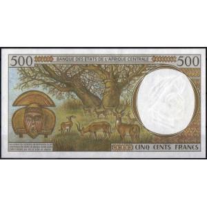 Чад 500 франков 2000 - UNC
