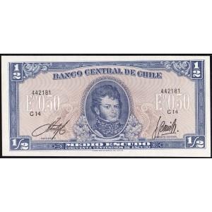 Чили 1/2 эскудо 1962 - UNC