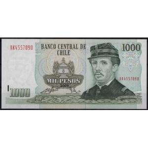 Чили 1000 песо 2009 - UNC