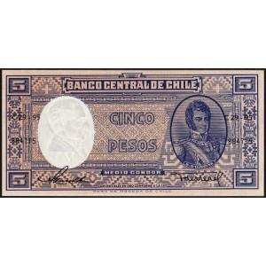 Чили 5 песо 1958 - UNC