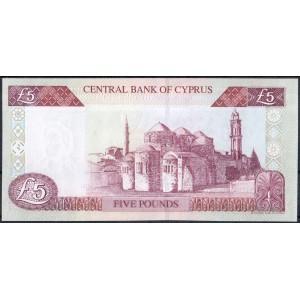 Кипр 5 фунтов 2003 - UNC