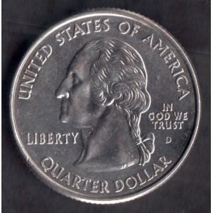 США 1/4 доллара 2005 (California) - XF