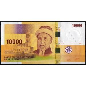 Коморские острова 10000 франков 2006 - UNC