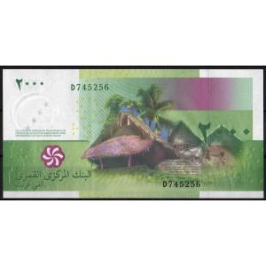 Коморские острова 2000 франков 2005 - UNC