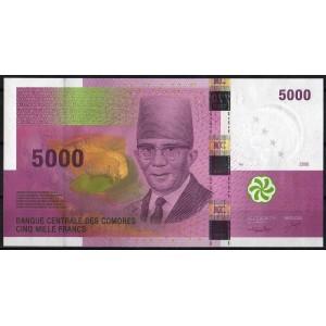 Коморские острова 5000 франков 2006 - UNC