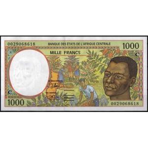 Конго 1000 франков 2000 - UNC